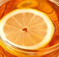 Чай с лимоном полезен