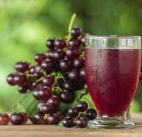 Чем полезен натуральный виноградный сок