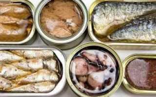 Полезна ли рыба в консервах