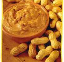 Паста арахисовая польза вред