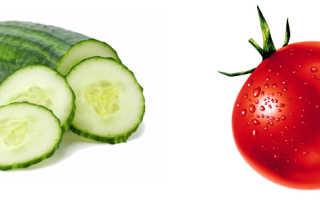 Огурцы и помидоры чем полезны