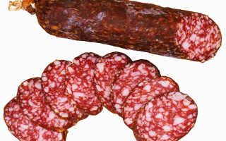 Сыровяленая колбаса польза и вред