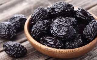 Полезные свойства сушеного чернослива