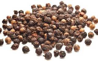 Полезные свойства перца черного молотого