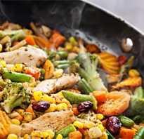 Тушеные овощи полезны ли