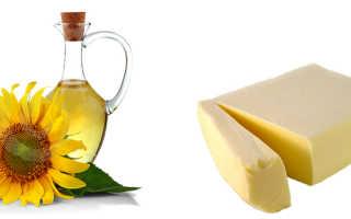 Растительное масло или сливочное что полезнее