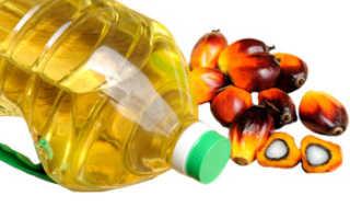 Пальмовый жир вред и польза