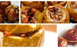 Полезные свойства печеных яблок
