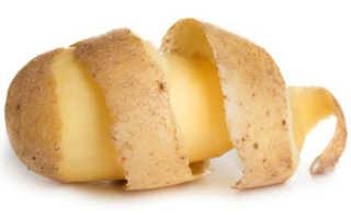 Кожура картофеля чем полезна