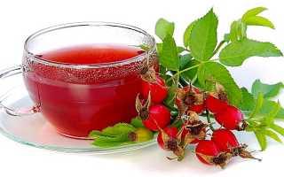 Чем полезен чай шиповниковый