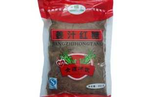 Чем полезен китайский красный сахар