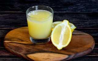Полезные свойства сок лимона
