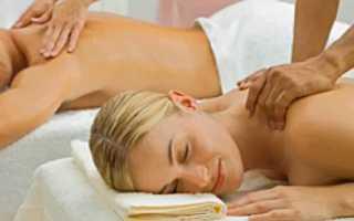 Польза от массажа спины