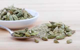 Семена кардамона полезные свойства