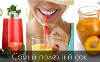 Самые полезные соки овощные