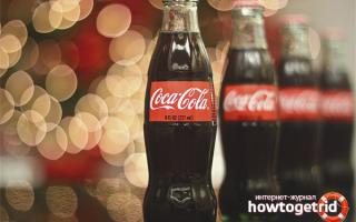 Кока кола вредная или полезная