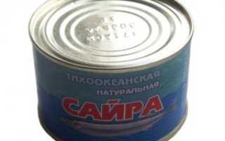 Полезна ли консервированная сайра