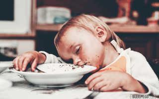 Полезно ли спать после еды