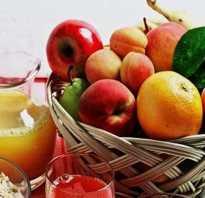 При панкреатите полезные фрукты
