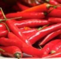 Чем полезен красный чили перец