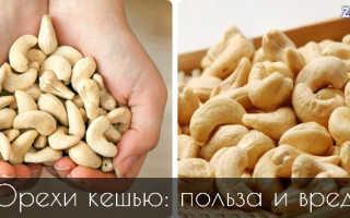 Орех кешью польза для женщин