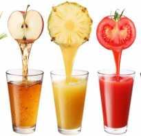 Полезно ли пить свежевыжатые соки