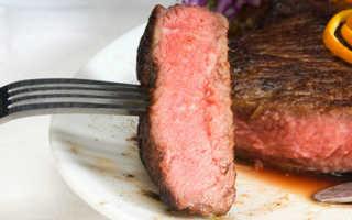 Красное мясо чем вредно