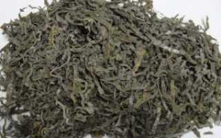 Ламинария сушеная полезные свойства и противопоказания