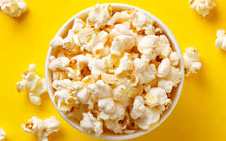 Польза и вред попкорна для организма