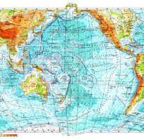 Полезные ископаемые в тихом океане