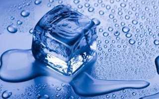 Чем замороженная вода полезна
