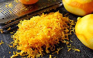 Полезна ли цедра лимона