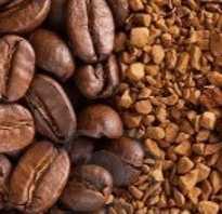 Полезнее растворимый или молотый кофе