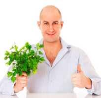 Полезные свойства петрушки для мужчин