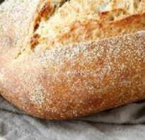 Хлеб без дрожжей чем полезен