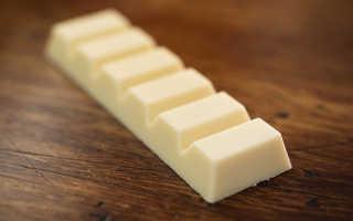 Полезен ли шоколад белый