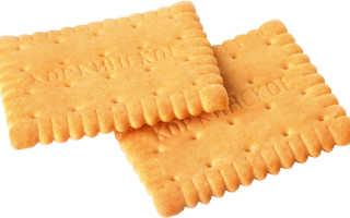 Печенье затяжное польза и вред