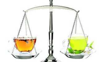 Что полезней черный чай или зеленый