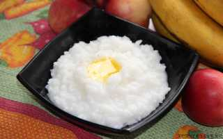 Каша рисовая полезные свойства