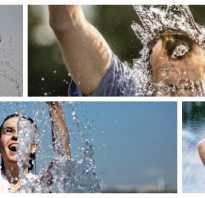 Полезно ли закаливание холодной водой