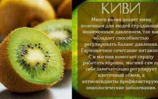Полезные свойства киви для похудения