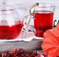 Польза от чая каркаде