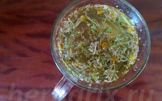 Чай ромашка полезные свойства для мужчин