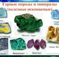 Рассказ о полезных ископаемых 4 класс