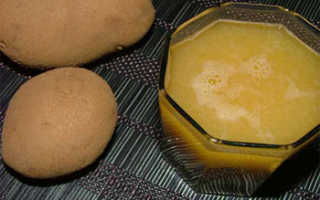 Полезен ли сок картофельный