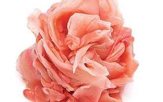 Чем полезен розовый имбирь
