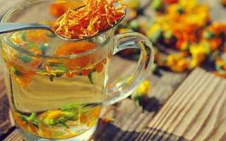 Чем полезен чай из бархатцев