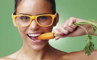 Полезна ли для зрения морковь