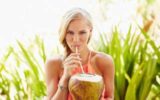 Сок кокоса чем полезен