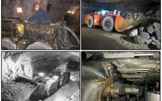 Подземная разработка месторождений полезных ископаемых специальность